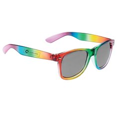 Bullet Rainbow Sun Ray Sunglasses
