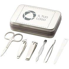 Set per manicure da 6 pezzi con incisione a laser Bullet™
