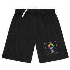 "Shorts juveniles de malla Badger Pro de 6"""