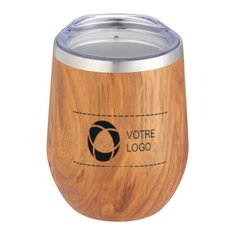 Tasse à isolation sous vide en cuivre Corzo Native 355 mL (12 oz)