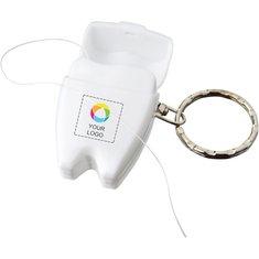 Bullet™ Demi Dental Floss keychain