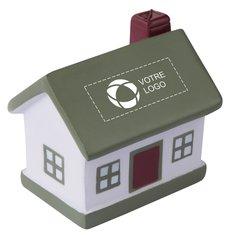 Balle anti-stress en forme de maison