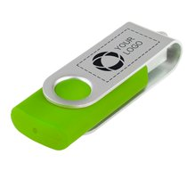Basic USB-minne med smidigt lock, 4 GB