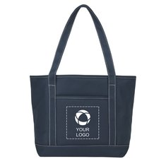 Heavy Weight Color Cotton Boat Tote Bag