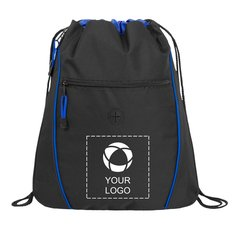 Raven Drawstring Cinch Backpack