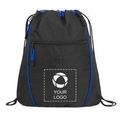 Raven Drawstring Cinch Backpack