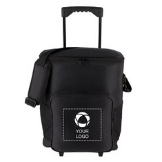 30-Can Rolling Insulated Cooler Bag