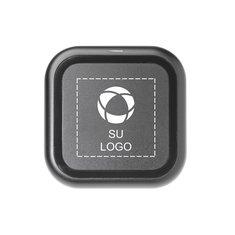 Base de carga inalámbrica radiante con logotipo iluminado