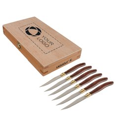 Laguiole® 6-Piece Steak Knife Set