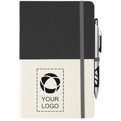 """Bullet 5"""" x 8"""" Two Tone Bound Notebook"""