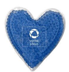 Minipoche de gel chaud/froid en forme de cœur