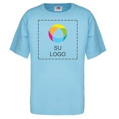Camiseta Fruit of the Loom® Ink Printed Heavy Cotton HD™ de 5 onzas para niños