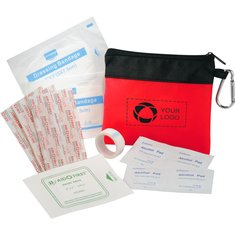 On The Go First Aid Kit with Alcohol Pads