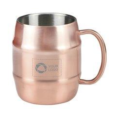 Double Wall Barrel Mug 15oz