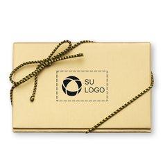 """Tarjeta de presentación de chocolate """"Happy Holidays"""" - Paquete de 50 tarjetas"""