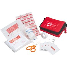 Bolt 20-Piece First Aid Kit with Alcohol Pads