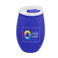 16 oz. Stemless Tritan™ Plastic Wine Cup Full Color