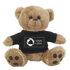 8 ½ Inch Big Paw Bear with Shirt