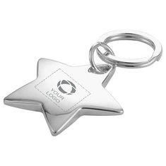 Bullet Star-Shaped Key Ring