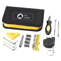 Set de herramientas de 23 piezas