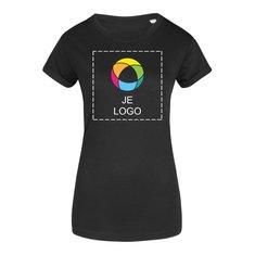 Mantis™ Organic dames-T-shirt met opgerolde mouwen