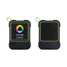 Haut-parleurs Bluetooth® BondOutdoor d'Avenue™ imprimés en couleur