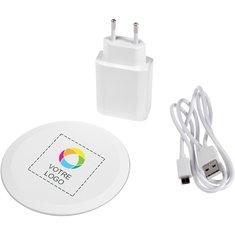 Kit de chargement rapide sans fil Swift d'Avenue™ imprimé en couleur