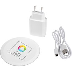 Avenue™ Swift Wireless Fast Charging Kit Full Colour Print