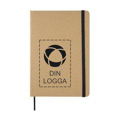 Miljövänlig A5 anteckningsbok i kraftpapper