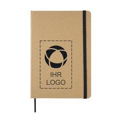 Umweltfreundliches A5-Notizbuch aus Kraftpapier