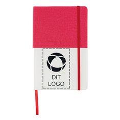 Deluxe A5 PU notesbog med dobbelt omslag