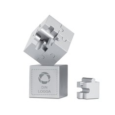 Kubzle 3D-pussel med lasergravyr