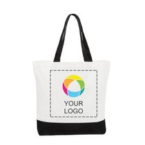 Classic Cotton Tote Bag Two-Tone Deluxe
