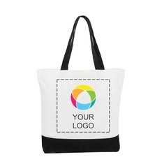 Clic Cotton Tote Bag Two Tone Deluxe