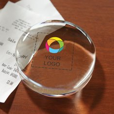 Circle Paperweight Award