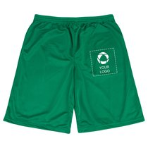 Sport-Tek® Extra Long PosiCharge® Classic Mesh Short Screenprint