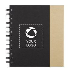 Lock-it Spiral Notebook