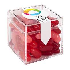 Cubo de caramelos gourmet Mike & Ike's® para San Valentín
