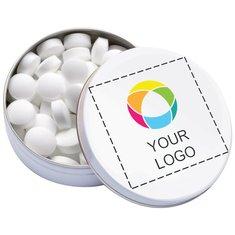 XS Pocket Tin med pepparmintstabletter, förpackning med 50 st.