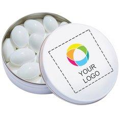 Pastiglie rinfrescanti alla frutta in scatolina tascabile XS, confezione da 100 pezzi