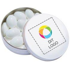 XS lommeæske med pastiller med smag af frisk frugt, pakke à 100 stk