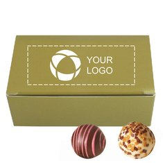 Truffle Gift Box, 2-Piece - Case of 50