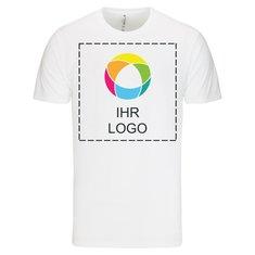 Premium-T-Shirt mit Kurzarm und Tintendruck aus 100% ringgesponnener Baumwolle von Russell™