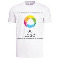 Camiseta liviana Anvil para hombre de algodón hilado por anillo de 4.5 onzas para impresión a tinta