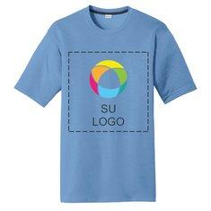 Camiseta Cotton Touch™ Competitor™ con tecnología PosiCharge® de Sport-Tek® con impresión a tinta