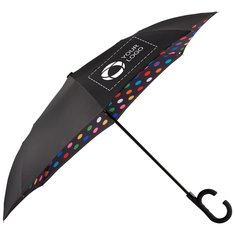 "Stromberg® 48"" Auto Open Designer Inversion Umbrella"