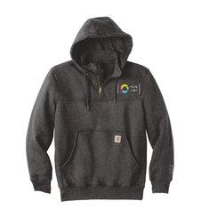Carhartt®Rain Defender®Paxton Heavyweight Hooded Zip Mock Sweatshirt