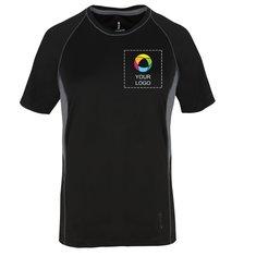 Camiseta Tech Diaz de manga corta para dama
