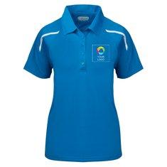 Elevate Nyos Women's Short Sleeve Polo Shirt