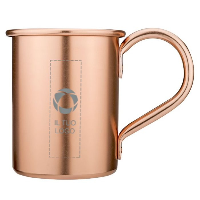 Set regalo con tazza Moscow Mule Avenue™ con incisione a laser